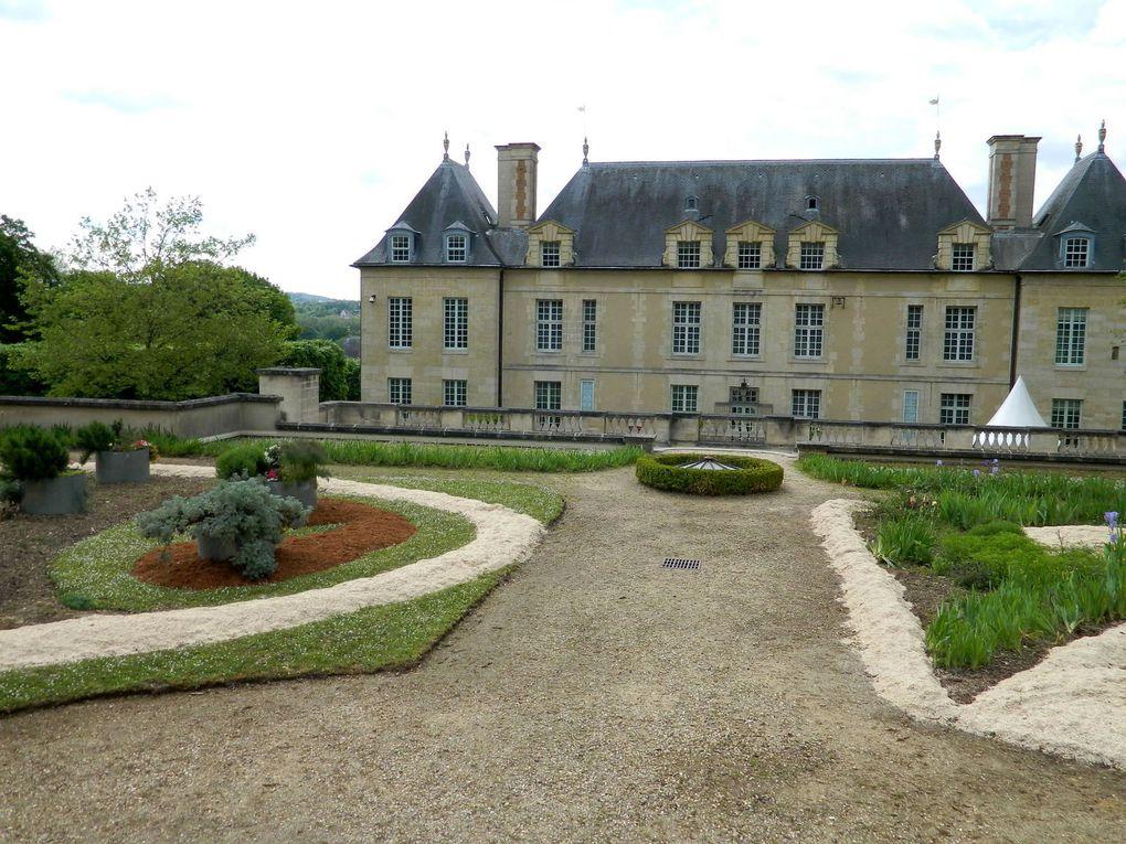 Dans le parc du Chateau d'Auvers sur Oise