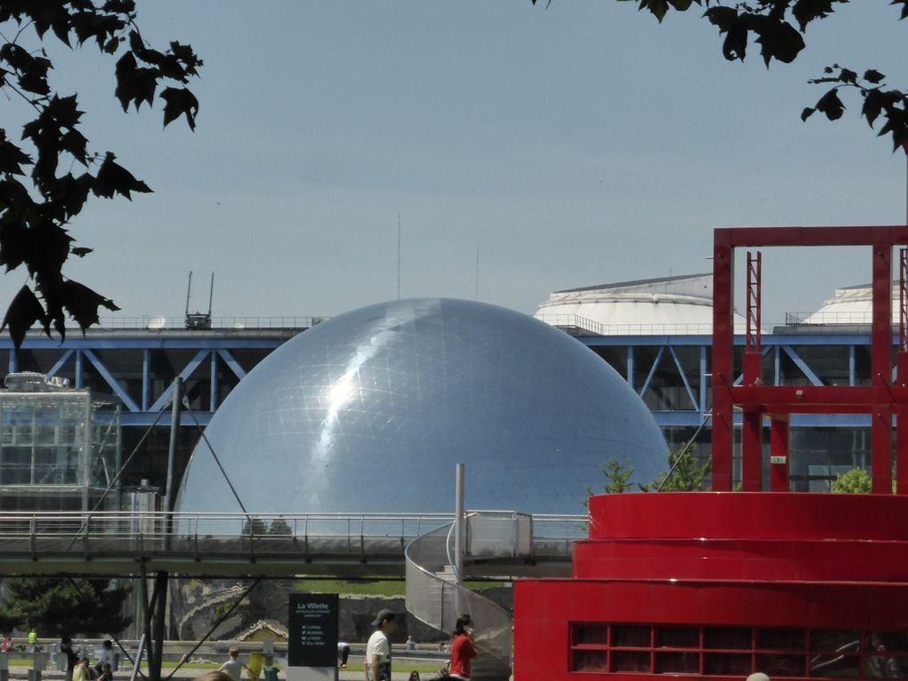 La Géode à la Cité des Sciences de La Villette