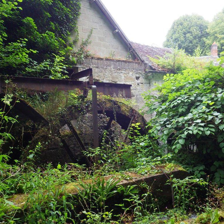 Le Moulin Brûlé transformé en gîte.
