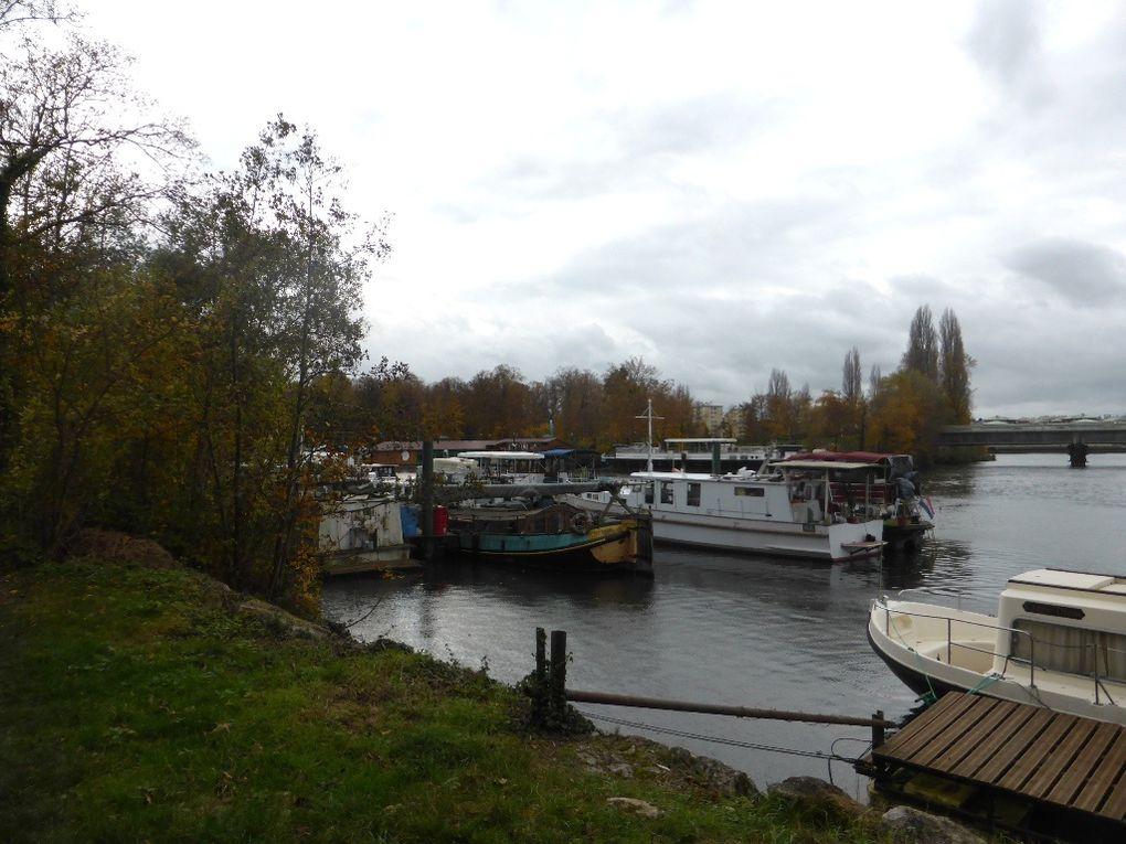 Retour vers Limay en longeant la Seine.