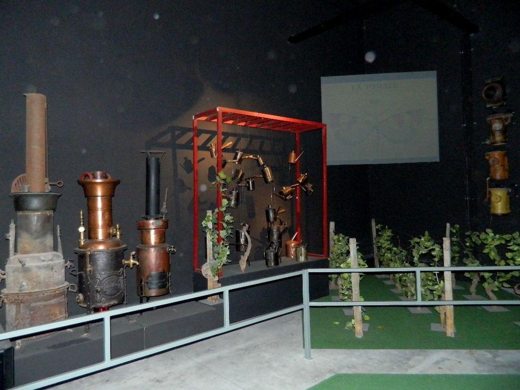 L'Imaginarium à Nuits St Georges nous fait découvrir l'histoire de la Bourgogne , les vieux métiers de la vigne et du vin.