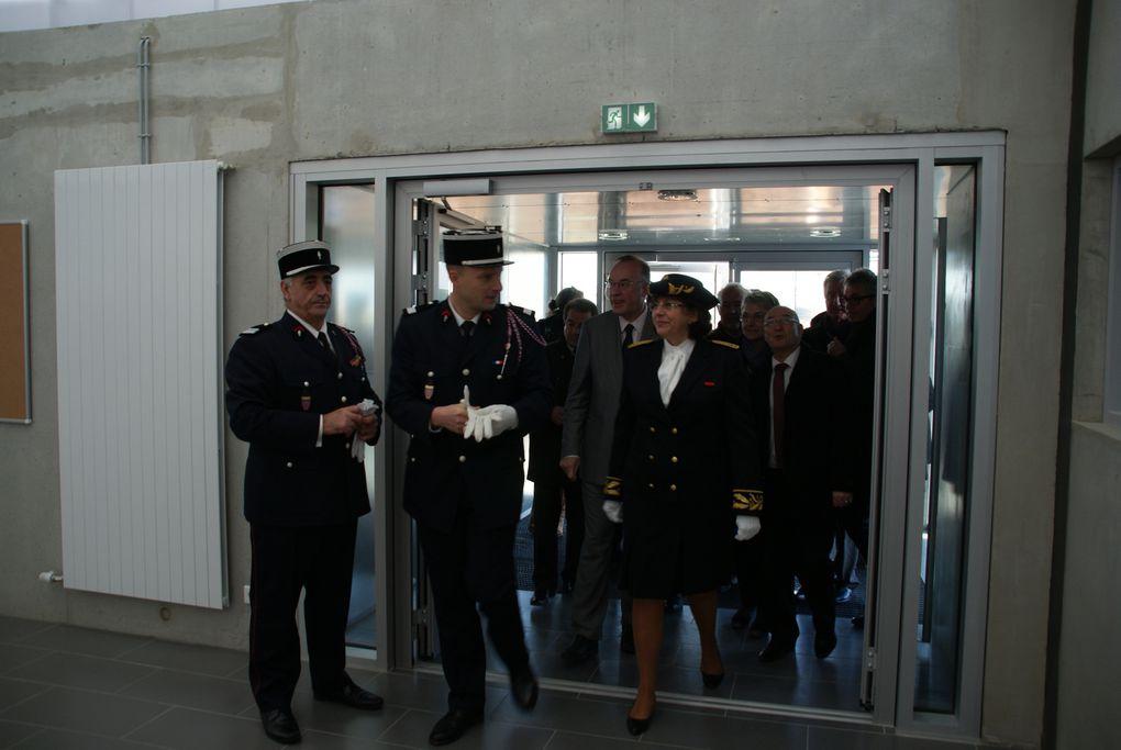 Centre de secours de Fontenay : inauguration et Sainte-Barbe