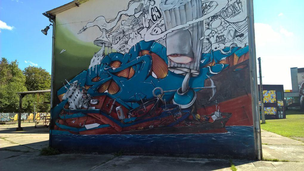 Visite à Street Art City