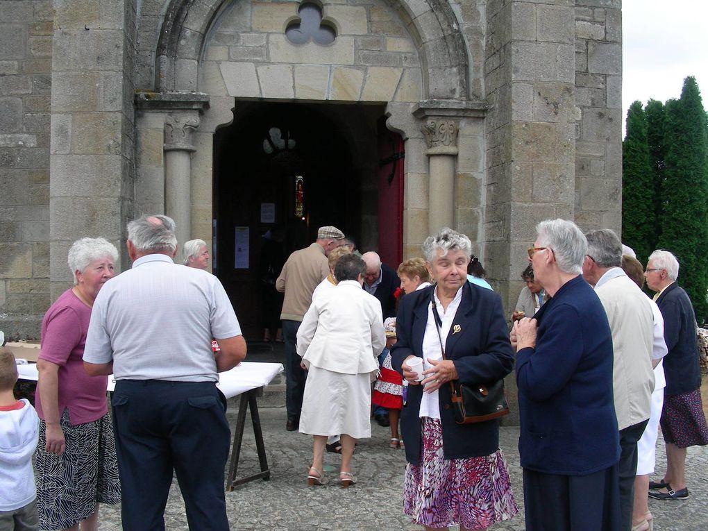 On a fêté Saint Abdon et Saint Sennen à Mazirat le samedi 25 juillet