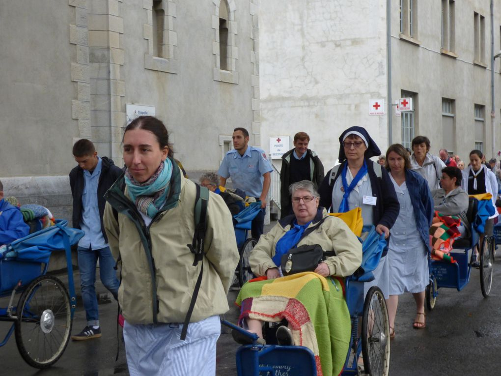 Pèlerinage à Lourdes (suite )
