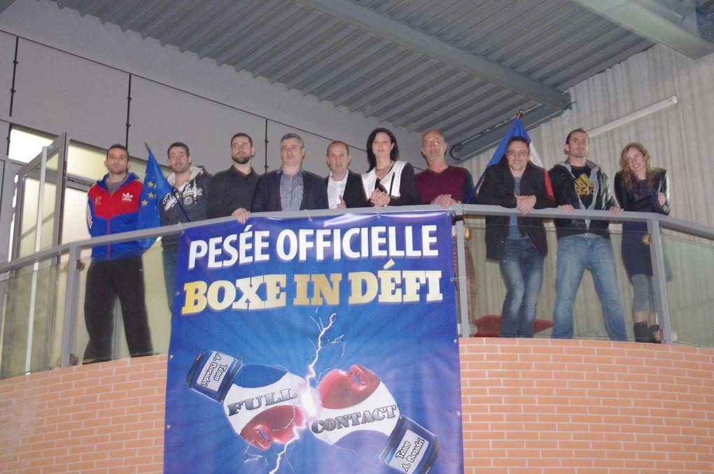 PESÉE DES BOXEURS