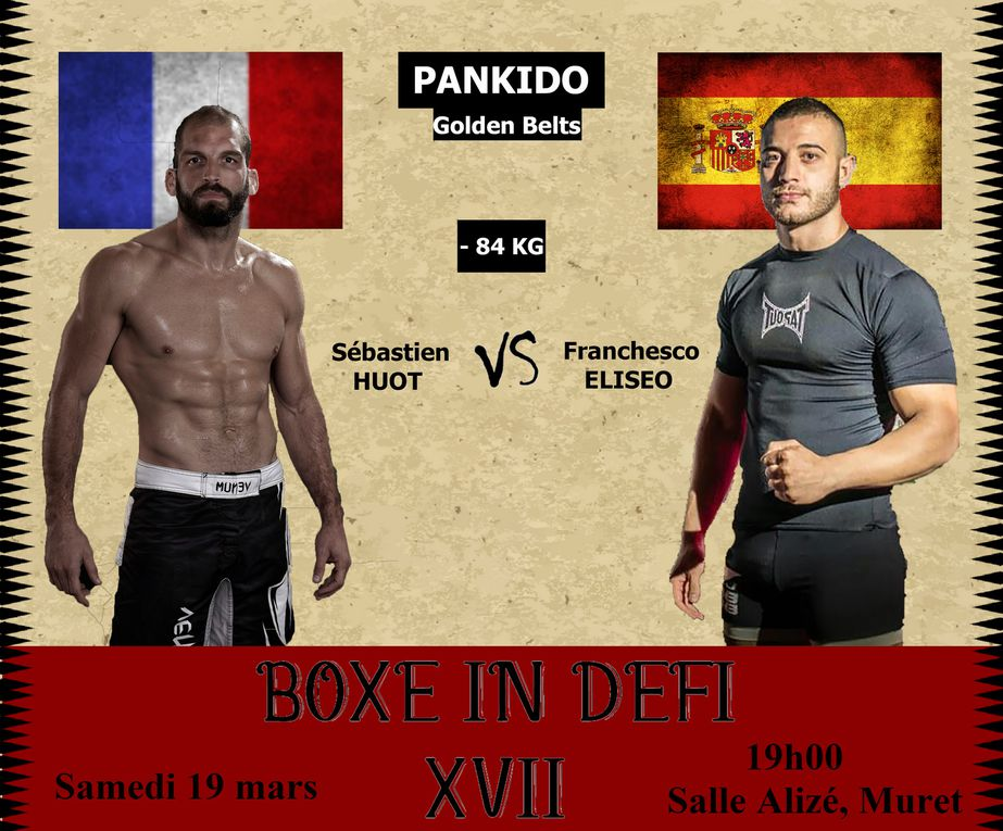 Les Opositions du BoxeInDéfi XVII (Défilement Photos)