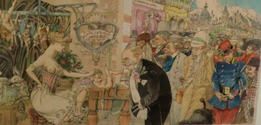 Gustav Adolf Mossa à voir au Musée des Beaux Arts de Nice