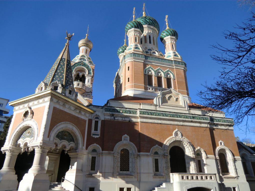 L'église russe à Nice