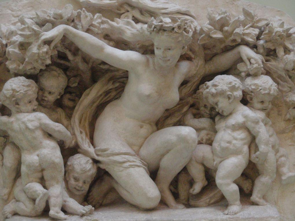Sculptures au Musée des Beaux Arts Chéret