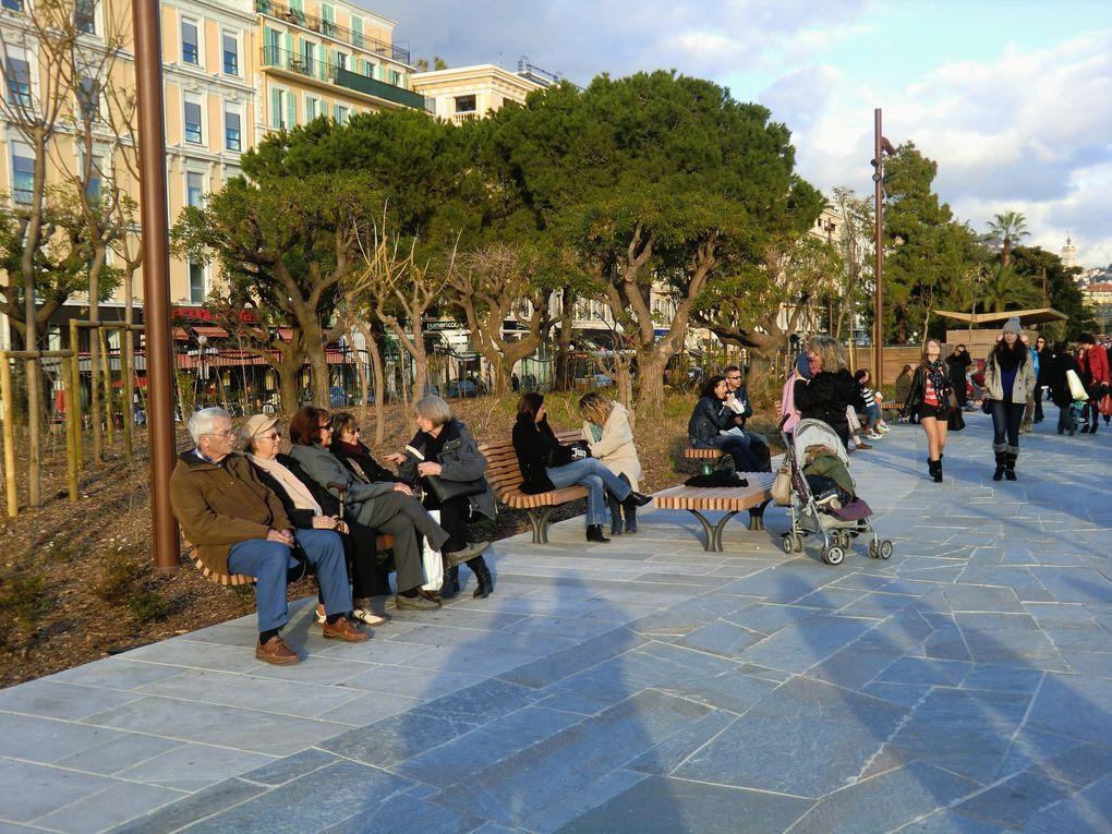 Vues de la trouée verte de Nice