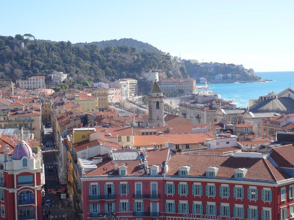 Nouveaux aspects de la ville de Nice