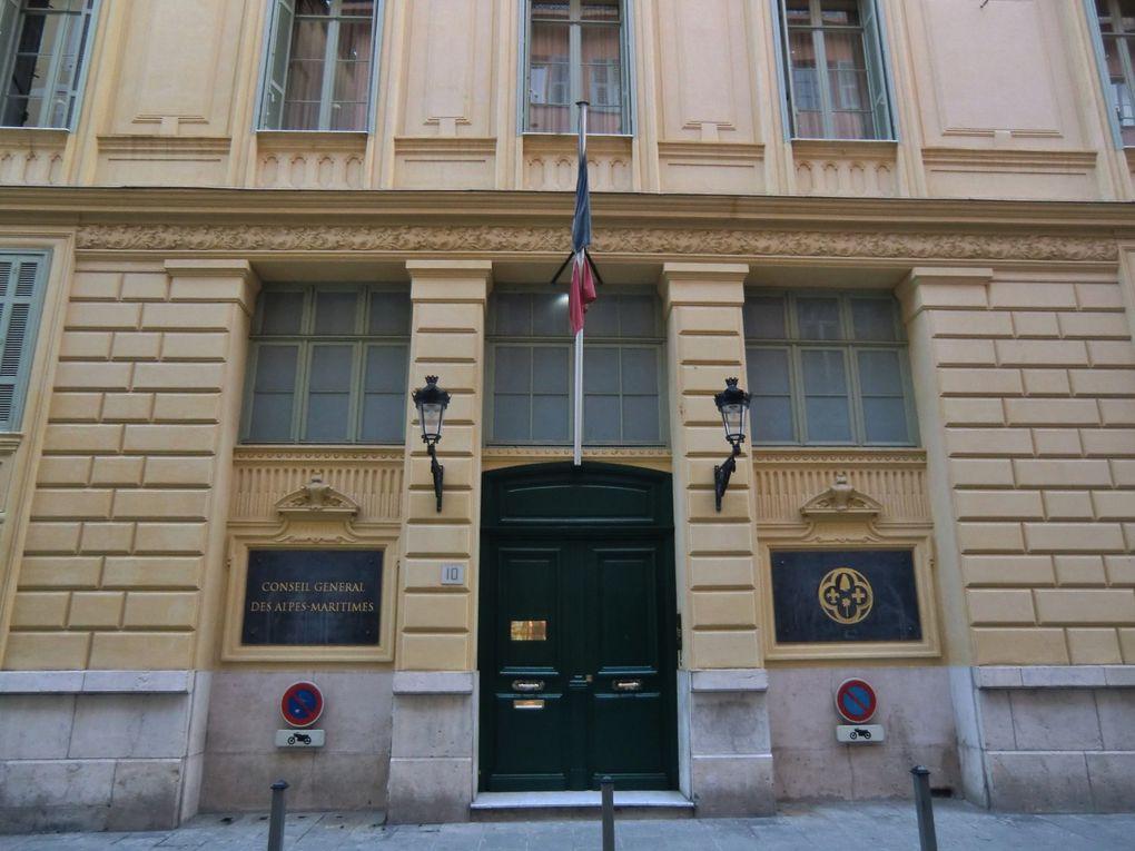 Rencontre au Conseil Général des Alpes Maritimes