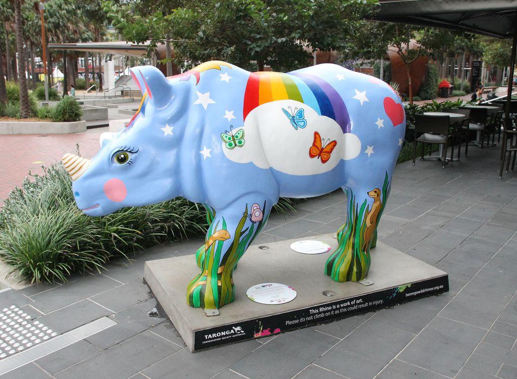 Repos et rhinos
