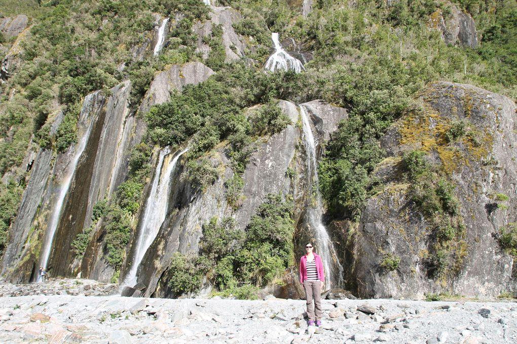 Franz Josef et Fox Glaciers
