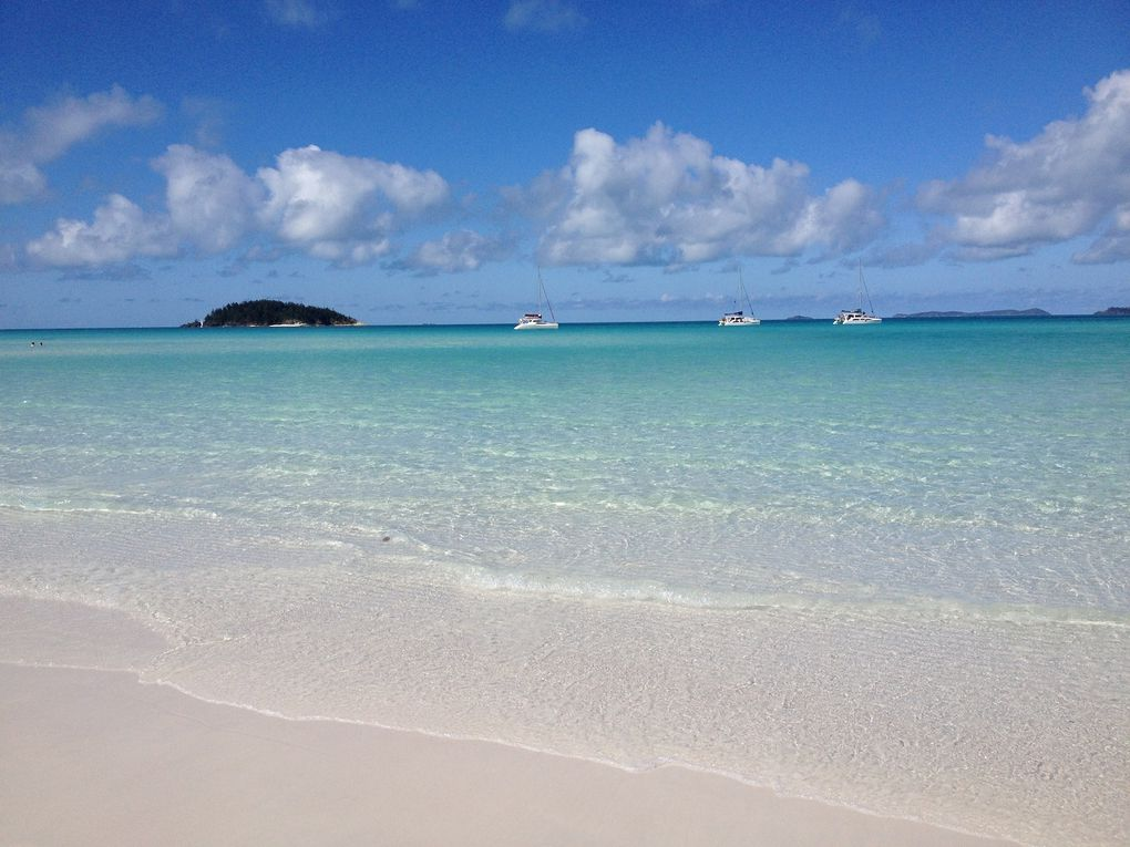 Whitsunday Islands by boat