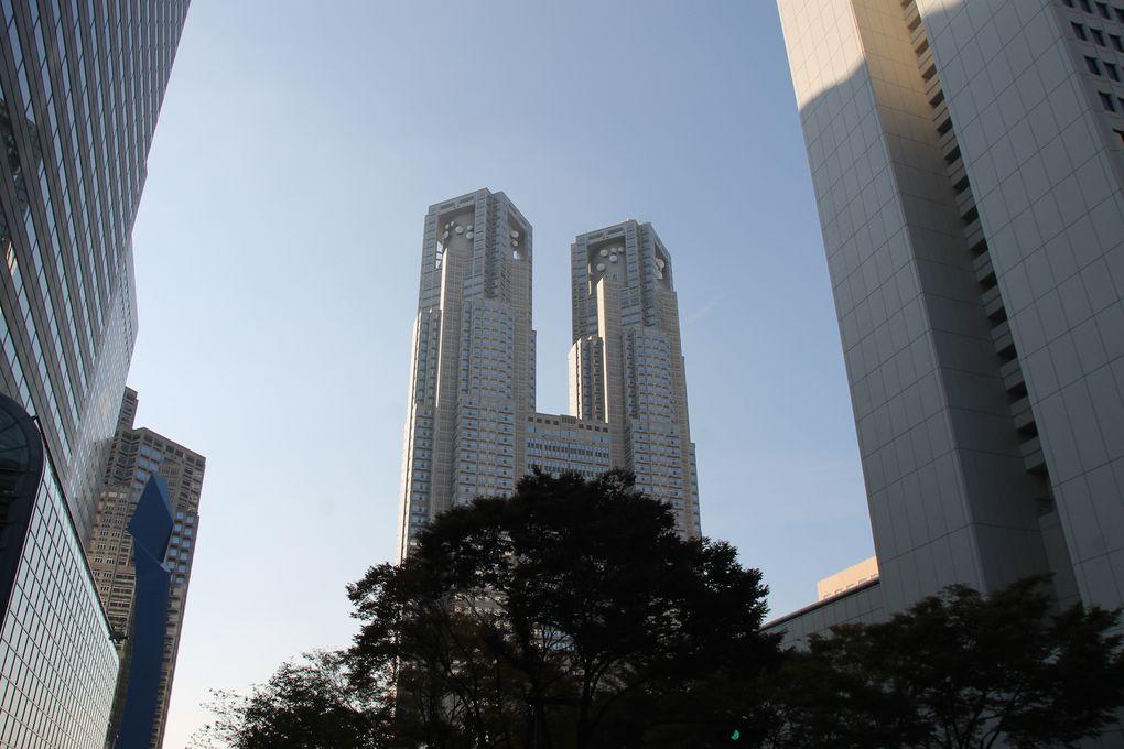 Shinjuku and Ginza