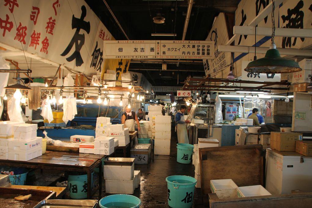 Tsukiji, Asakusa et Ameyoko