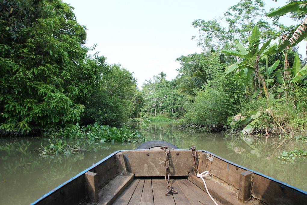 Marchés flottants sur le Mékong