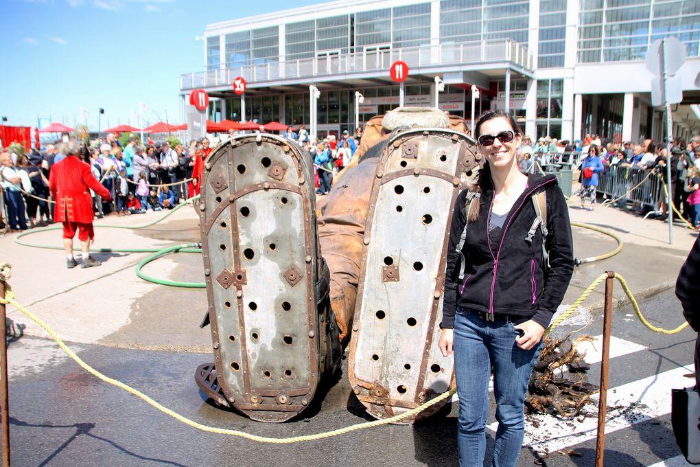 Des géants à Montréal