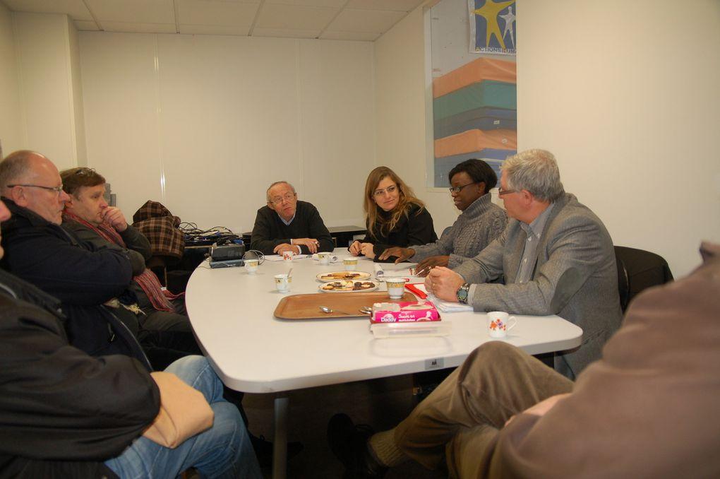 Visite des locaux de A.H. par le Conseil Général de Loire Atlantique le 13 décembre 2013