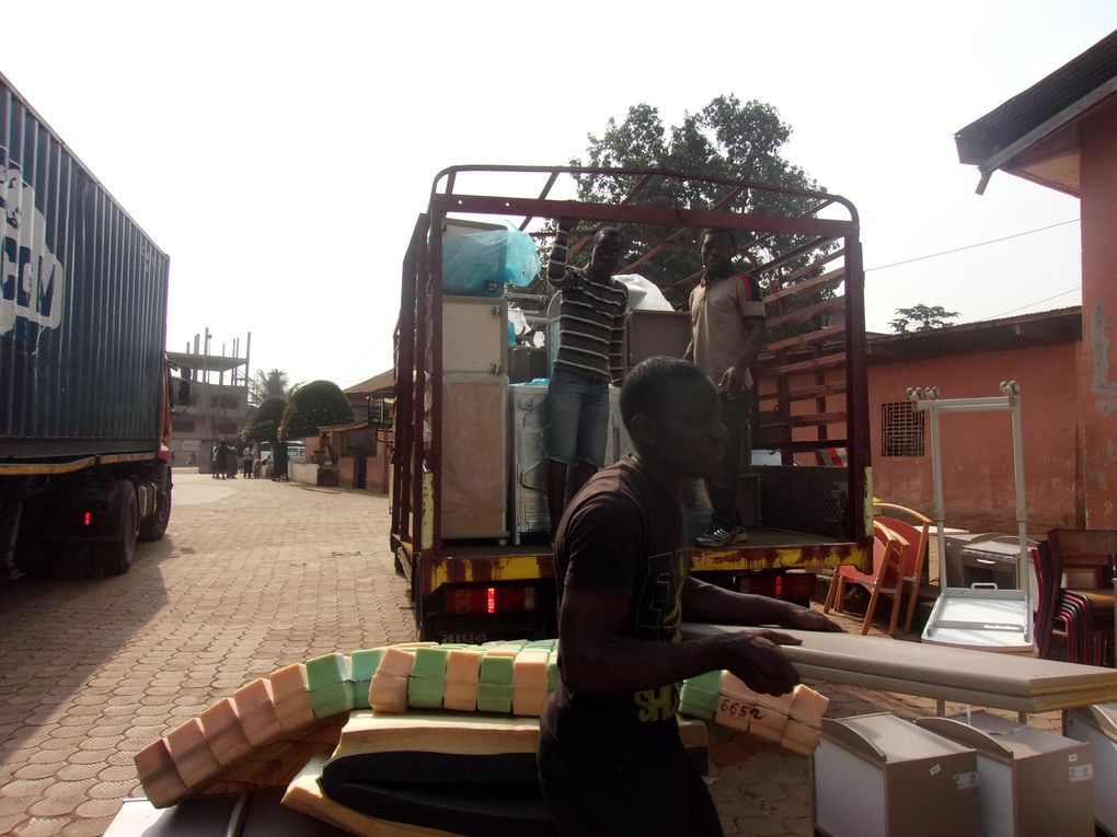 Mission CAMEROUN : La distribution