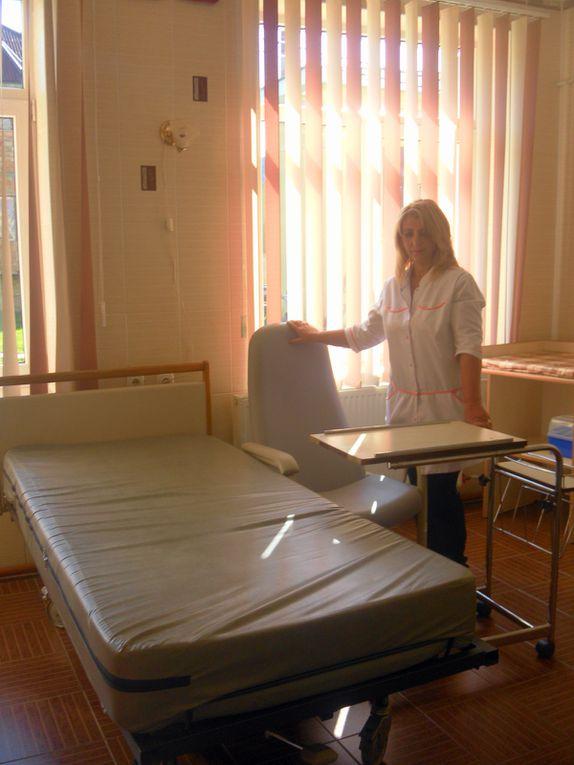 Le Matériel pour l'Ukraine à été livré à  l'hôpital de STOROJYNETS