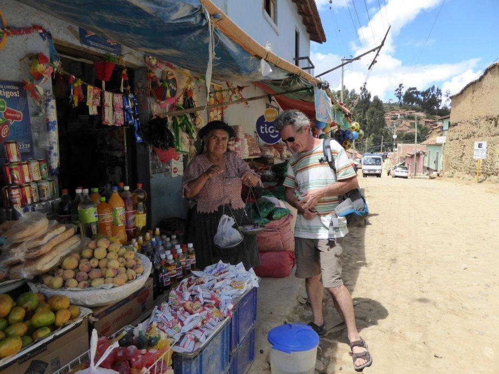 De Sucre à La Paz
