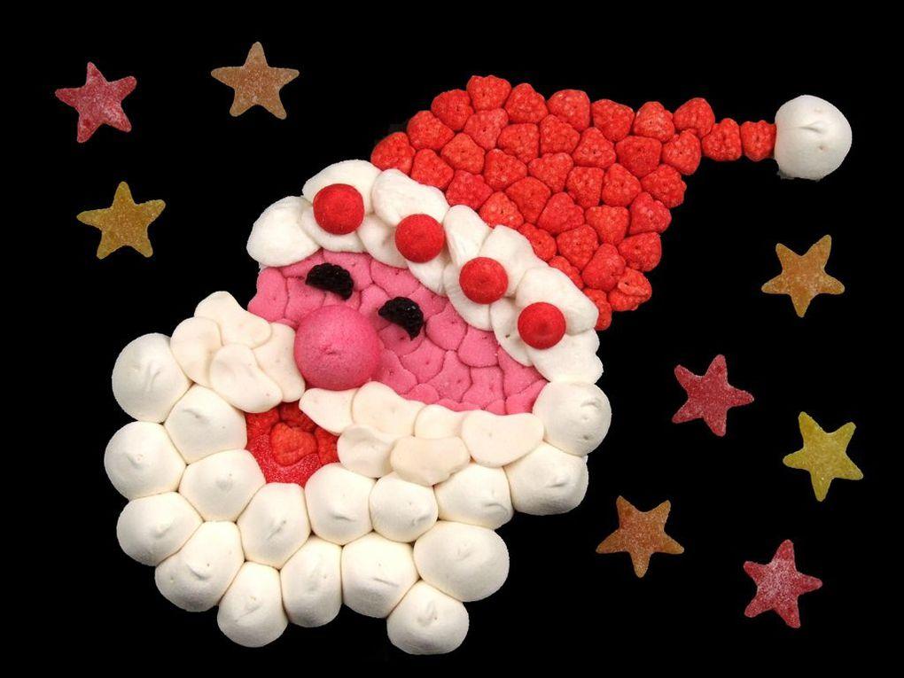 Idées Gâteaux de bonbons pour Noël