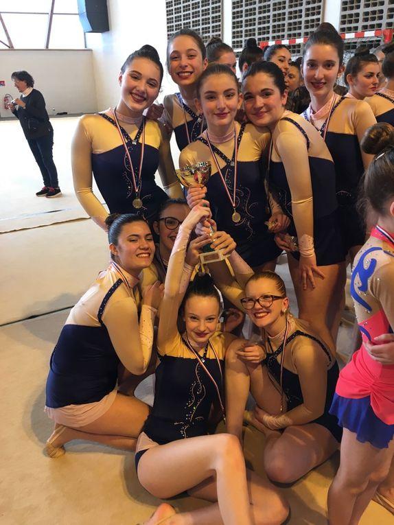 SUITE et FIN du Championnat Départemental des ensembles GR : 3 titres !