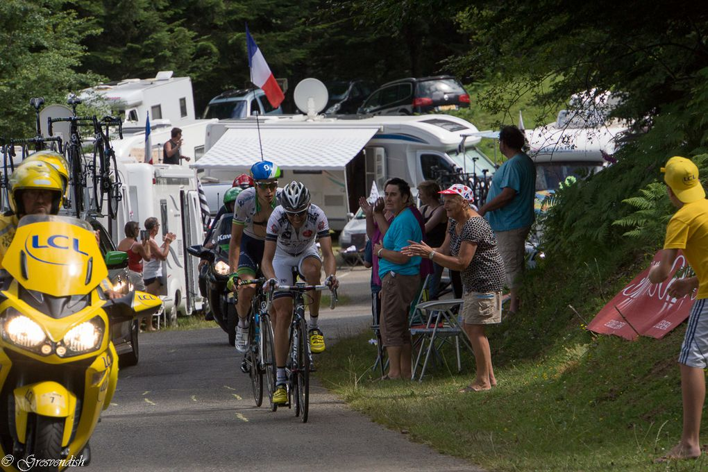 tour de france ,le port de bales ,22 juillet 2014