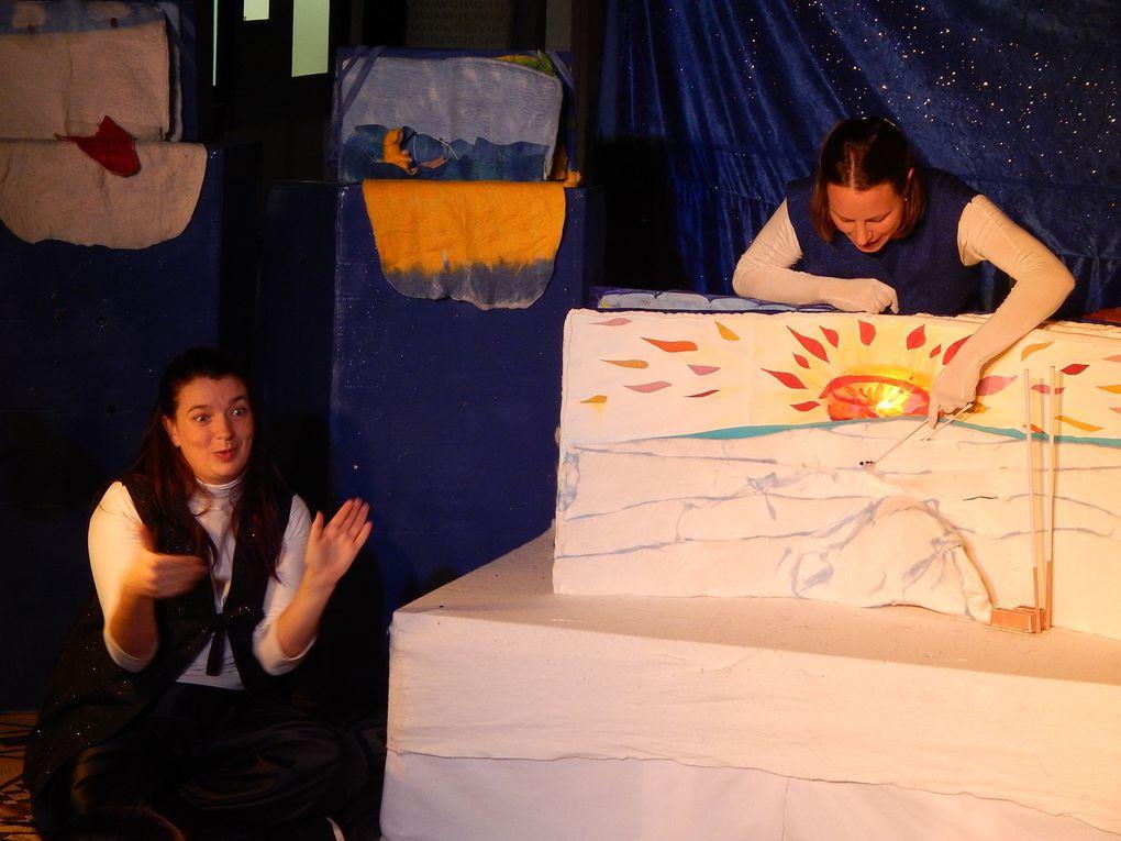 Saturnales spectacle bilingue LSF marionnettes et  Musique visuelle!!