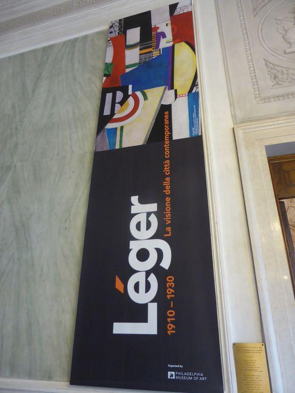 Fernand Léger. La visione della città contemporanea 1910 – 1930. Musée Correr, Venise © Photographies Gilles Kraemer, présentation presse 7 février 2014