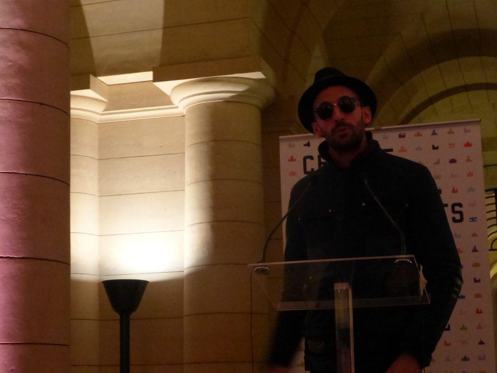 JR est entré au Panthéon © Photographies Gilles Kraemer, conférence de presse 25 février 2014