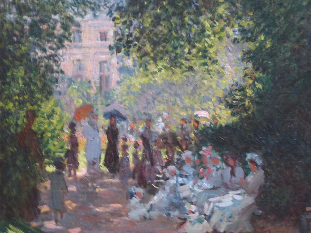 Claude Monet, Le parc Monceau, 1878. Huile sur toile. The Metropolitan Museum of Art, New York, The Mr. and Clara Mertens, in memory of her mother, Jenny Pulitzer Steiner, 1964 (64.148)