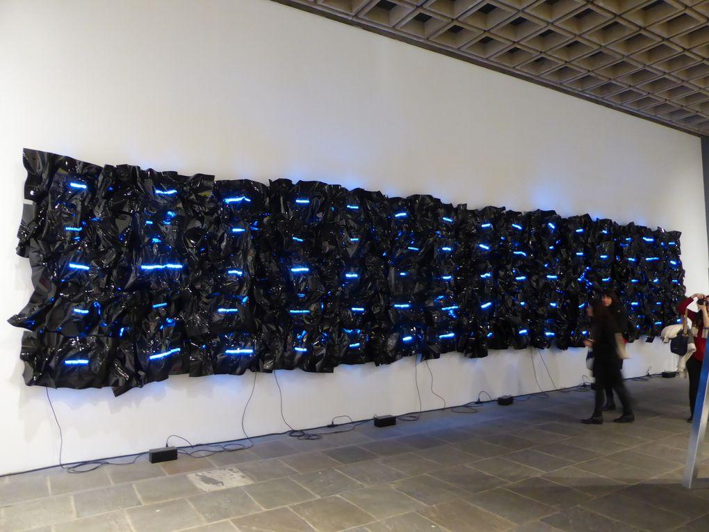 Whitney Biennial 2014 New York & Portrait de Karl Haendel à la 12e biennale de Lyon, 2013 © Photographies Gilles Kraemer