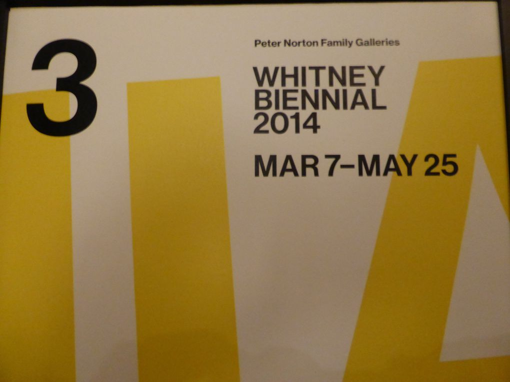 Whitney Biennial 2014, New York © Photographies Gilles Kraemer
