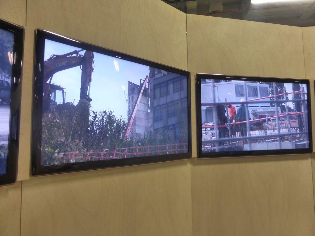 Re-création du Moulin , installation de Monte Laster dans le cadre de Banlieue. Banlieue is beautiful, Palais de Tokyo © Photographies Gilles Kraemer, samedi 17 mai 2014