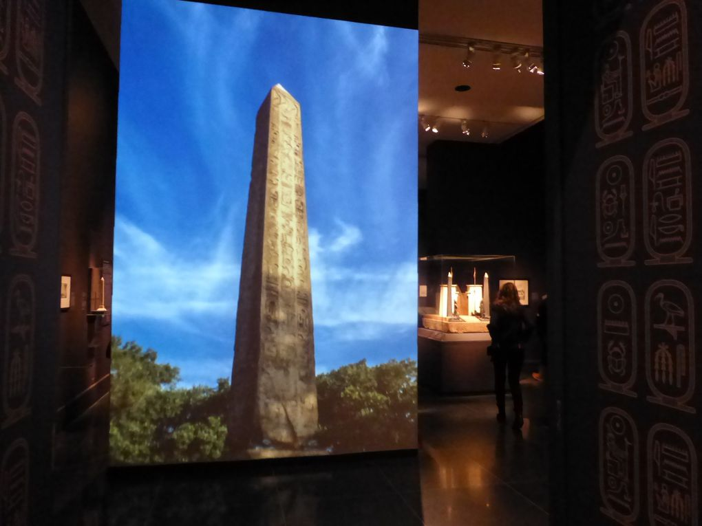 Exposition Cleopatra's Needle, MET, New York © Photographies Gilles Kraemer