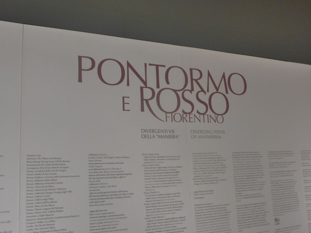 Pontormo et Rosso, palazzo Strozzi, Florence © Photographies Antoine Prodhomme, mai 2014