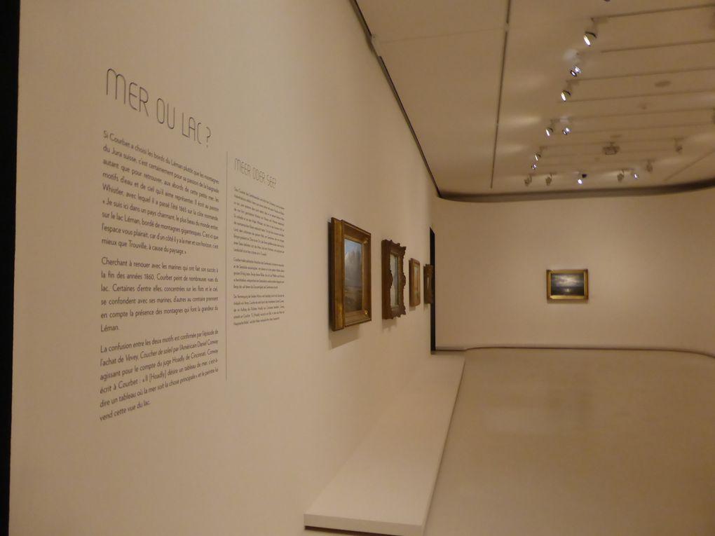 Exposition Gustave Courbet. Les années suisses, musée Rath, Genève © photographies Le curieux des arts Gilles Kraemer, présentation presse
