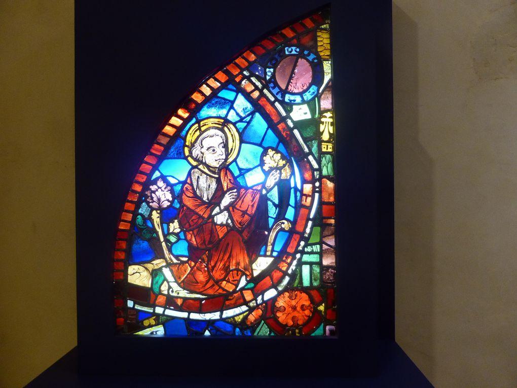 exposition Saint Louis, roi de France en Anjou, château d'Angers © photographies Le curieux des arts Gilles Kraemer, octobre 2014