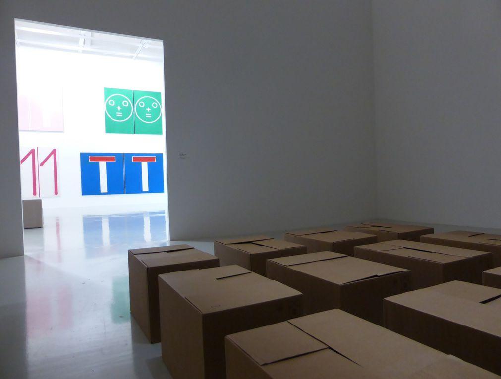 Exposition La Répétition, Frac Franche-Comté, Besançon © photographies Le curieux des arts Gilles Kraemer, visite presse février 2015