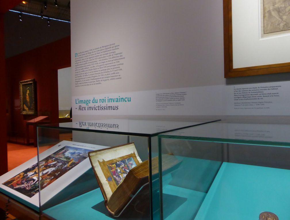 Vues de l'exposition François Ier. Pouvoir et image, BnF © Le Curieux des arts Gilles Kraemer, présentation presse, mars 2015