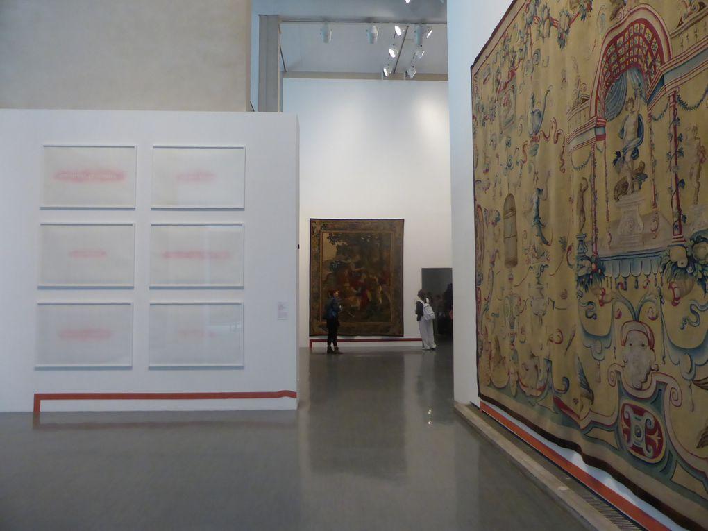 Vues de l'exposition Amours, Vices & Vertus. Galerie nationale de la tapisserie, Beauvais © Le Curieux des arts Gilles Kraemer, présentation presse, juin 2015