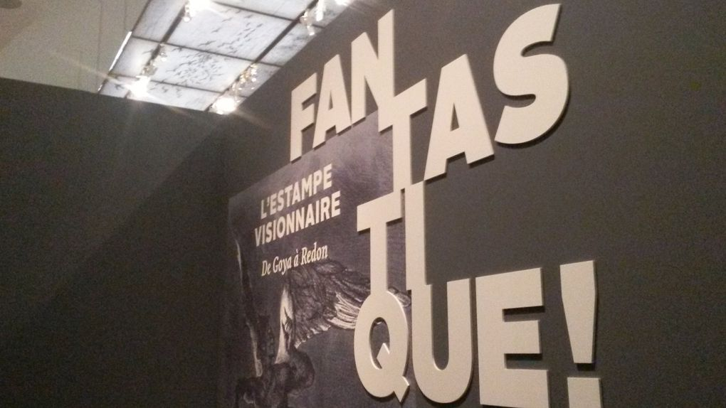 Vues de l'exposition Fantastique ! L'estampe visionnaire de Goya à Redon, Petit Palais, Paris © Le Curieux des arts Gilles Kraemer, présentation presse de l'exposition Fantastique ! L'estampe visionnaire. De Goya à Redon, octobre 2015