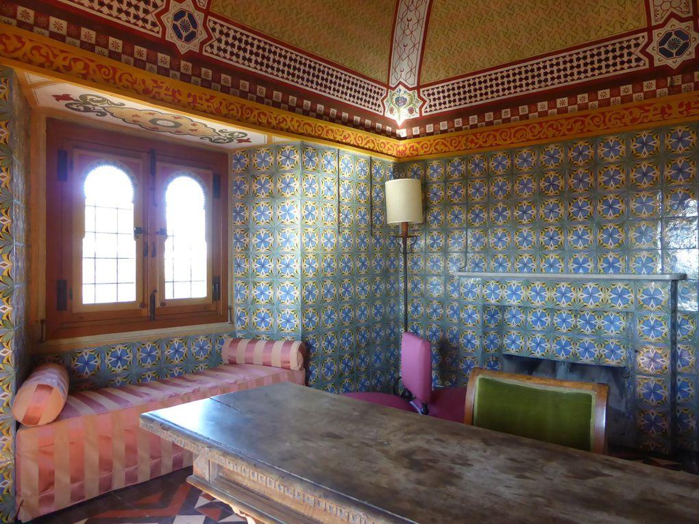 Villa Médicis, la Chambre turque © Le Curieux des arts Antoine Prodhomme, Villa Médicis, Rome, 23 octobre 2015