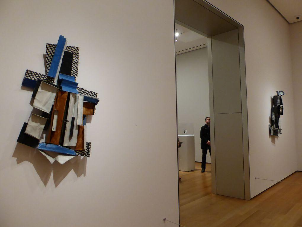 """Salle """"Les années cubistes (1912-1915). The cubist years"""". Exposition Picasso Sculpture, MoMA, New York © Le Curieux des arts Gilles Kraemer, New York, décembre 2015"""