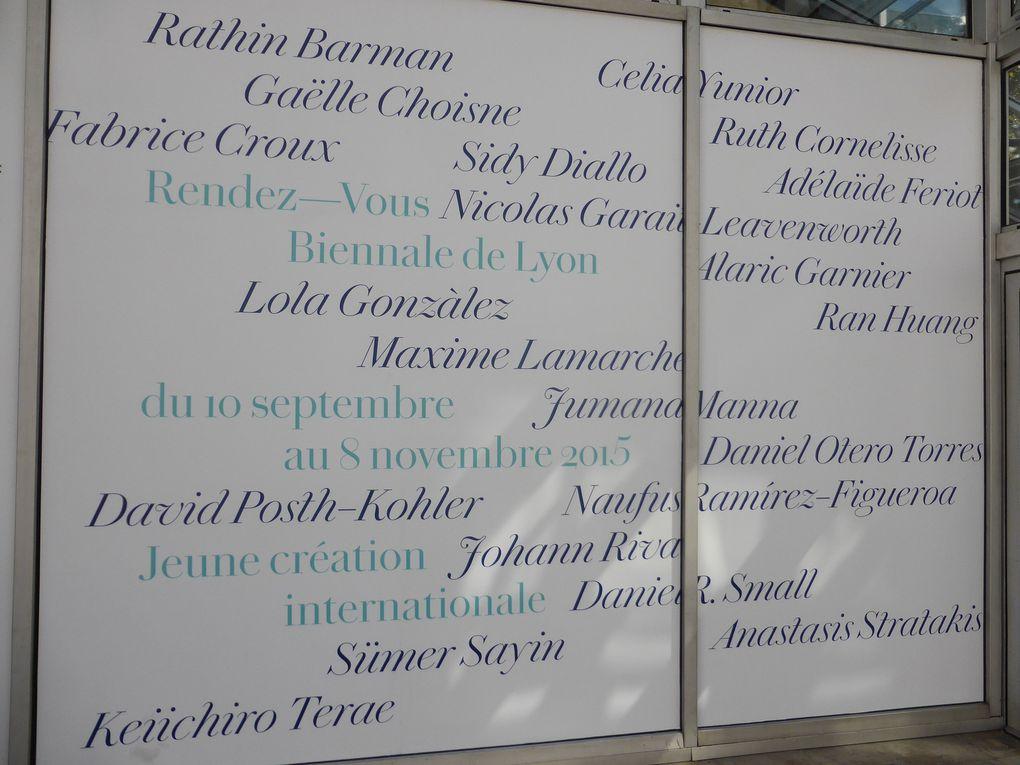 Johann Rivat à Rendez-Vous 15 - Jeune création internationale – 13e Biennale d'Art Contemporain de Lyon 2015, Institut d'Art Contemporain / FRAC Rhone Alpes de Villeurbanne © Le Curieux des arts Gilles Kraemer, présentation presse de la 13e Biennale de Lyon 2015, 9 septembre 2015