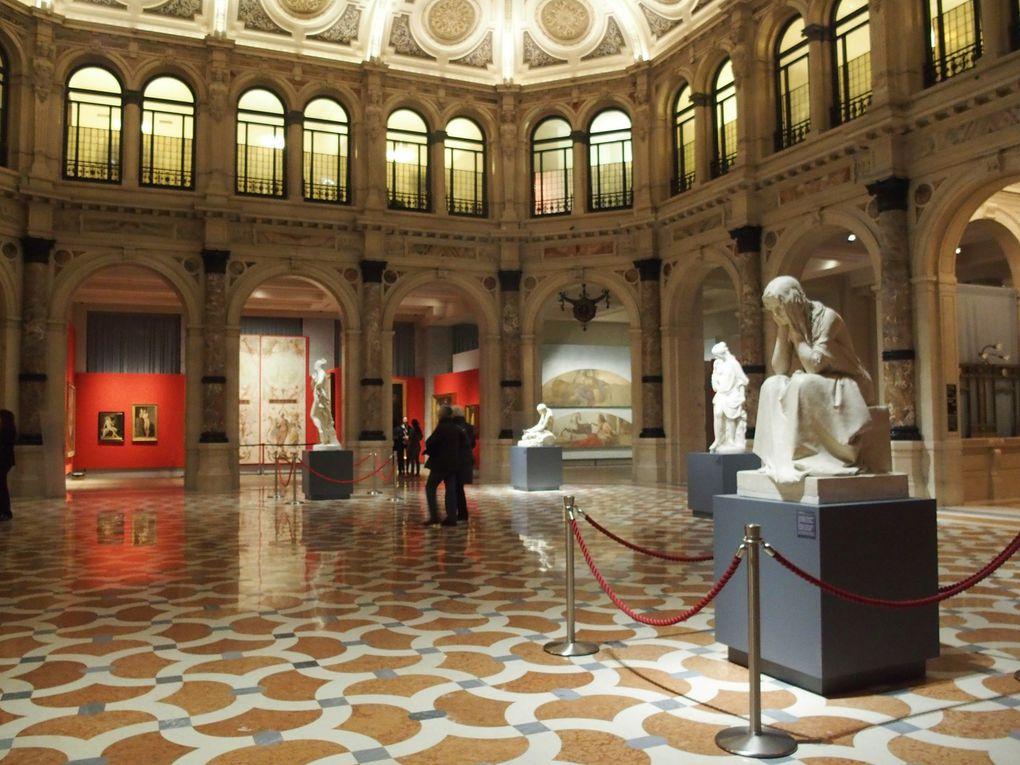 Vues de l'exposition Francesco Hayez © photographies Le Curieux des arts Gilles Kraemer, janvier 2016. Exposition Francesco Hayez, Gallerie d'Italia, Milan